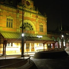 Photo taken at Station Groningen by Andrew B. on 3/28/2013