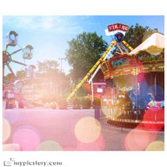Photo taken at Florya Lunapark by Yağmur Ece A. on 5/24/2013