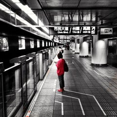 Photo taken at 捷運台北車站 MRT Taipei Main Station by Kovis L. on 4/24/2013