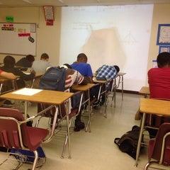 Photo taken at Santaluces High School by Wyn N. on 5/14/2014