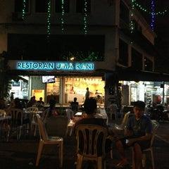 Photo taken at Restoran Uma Rani by Syam on 1/14/2013