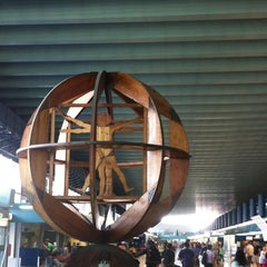 "Photo taken at Aeroporto Roma Fiumicino ""Leonardo da Vinci"" (FCO) by Elena . on 7/26/2013"