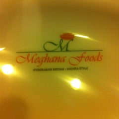Photo taken at Meghana Foods by Vinayak M. on 5/3/2013
