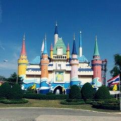 Photo taken at Siam Park City (สยามพาร์คซิตี้) by Kay P. on 12/25/2012