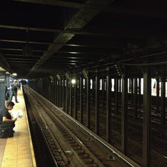 Photo taken at MTA Subway - 8th St/NYU (N/R) by Nate F. on 7/25/2013