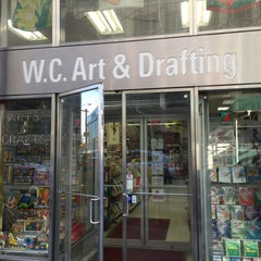 Photo taken at W.C. Art and Drafting Supply by Nate F. on 1/19/2016
