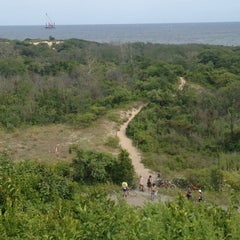 Photo taken at Fort Tilden National Park by Nate F. on 7/26/2014