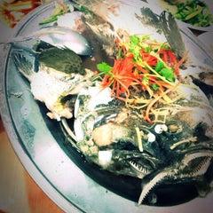 Photo taken at 渔人厅 Fresherman Seafood Restaurant & Cafe by Sunita P. on 1/1/2014