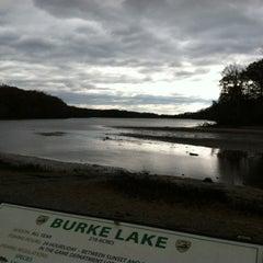 Photo taken at Burke Lake by Lauren S. on 11/3/2012