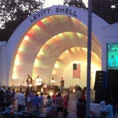 Photo taken at Levitt Shell by Michael B. on 6/22/2013