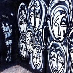 Photo taken at Chelsea Art Walk by Luke Kash Y. on 8/19/2014