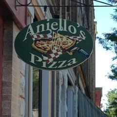 Photo taken at Aniello's Pizzeria by Brian G. on 7/26/2013