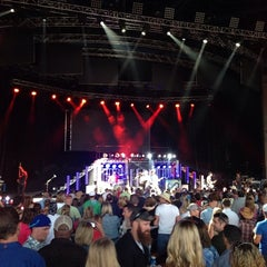 Photo taken at Marcus Amphitheater by Weston S. on 6/30/2013