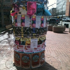 Photo taken at Pearl Street Mall by Blue D. on 3/20/2013