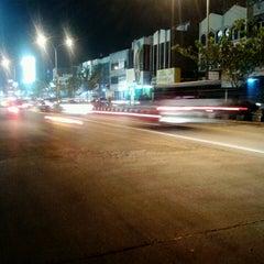 Photo taken at Jalan Margonda Raya by Don P. on 4/28/2013