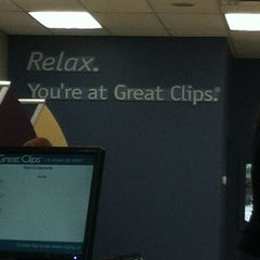 Photo taken at Great Clips by Erika R. on 4/1/2013