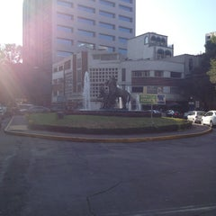 Photo taken at Av. Campos Elíseos by Eric P. on 1/25/2013