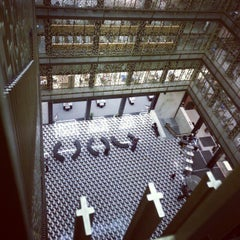 Photo taken at NYU Bobst Library by Benjamin G. on 11/24/2012