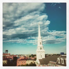 Photo taken at Downtown Portsmouth by Scotty on 6/26/2015
