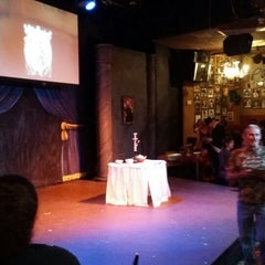 Photo taken at Pocket Sandwich Theatre by Lewdie S. on 10/11/2014