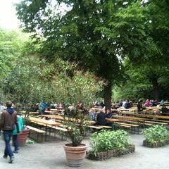 Photo taken at Café am Neuen See by T. B. on 5/20/2013