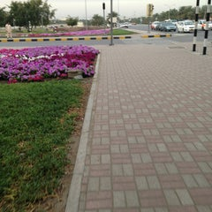 Photo taken at al khoud round about by Lucino O. on 1/29/2013