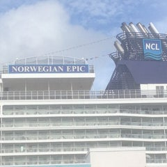 Photo taken at Norwegian Epic by Robby S. on 12/8/2012