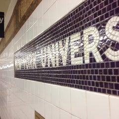 Photo taken at MTA Subway - 8th St/NYU (N/R) by Tom S. on 6/10/2014
