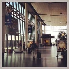 Photo taken at Bradley International Airport (BDL) by Kenya on 6/25/2013