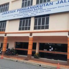 Photo taken at JPJ Bandar Baru Bangi by Norzehan S. on 3/26/2013
