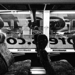 Photo taken at Newark-Liberty Airport Express Shuttle by Redmond on 12/23/2012