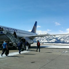 Photo taken at Jackson Hole Airport (JAC) by Amy T. on 2/27/2013