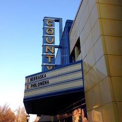 Photo taken at County Theater by Amy T. on 12/27/2013