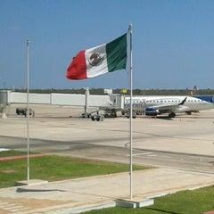 Photo taken at Aeropuerto Internacional de Mérida (MID) by Manuel Eduardo G. on 2/24/2013