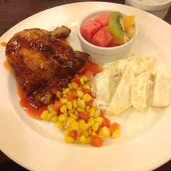 Photo taken at Kenny Rogers Roasters by agie S. on 6/26/2013