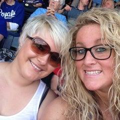 Photo taken at Kauffman Stadium by Katie C. on 5/26/2013
