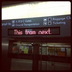 Photo taken at Las Vegas Airport Tram by Michael S. on 10/15/2012