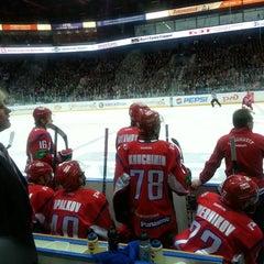 Photo taken at Арена 2000 Локомотив / Arena 2000 Lokomotiv by Наталья Ф. on 9/18/2013