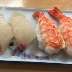 Photo taken at すし政 中店 by ren on 5/16/2015