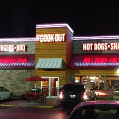 Photo taken at Cookout by Reese D. on 4/17/2015