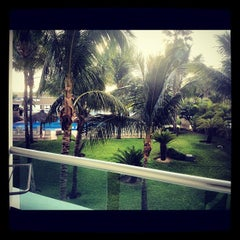Photo taken at Hotel Riu Caribe by Jorge D. on 10/13/2012