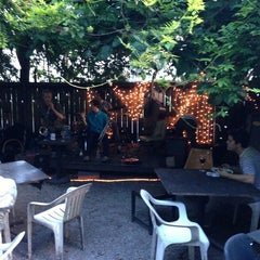 Photo taken at Bacchanal Wine by Nicholas J. on 7/15/2013