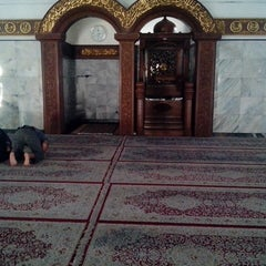 "Photo taken at Masjid Agung ""DARUSSALAM"" Bojonegoro by Dhani C. on 8/11/2013"