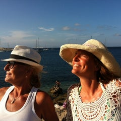 Photo taken at Capo Testa Spiaggia di Levante by Giulietta C. on 8/7/2014