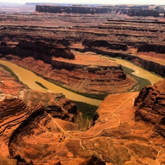 Photo taken at Dead Horse Point State Park by Edward H. on 5/25/2013