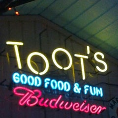 Photo taken at Toot's Good Food & Fun by Augusta F. on 2/23/2013