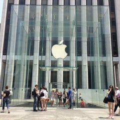 Photo taken at Apple Store, Fifth Avenue by Alexander K. on 6/25/2013