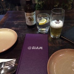 Photo taken at @Siam by Marcus R. on 8/29/2014