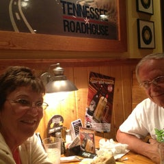 Photo taken at Tennessee Roadhouse by Steve G. on 7/12/2013