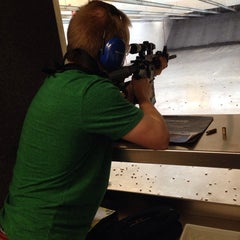 Photo taken at Ultimate Defense Firing Range & Training Center by Tina E. on 12/28/2013